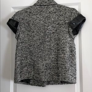 Kensie Jackets & Coats - Black and white tweed blazer. Size XS